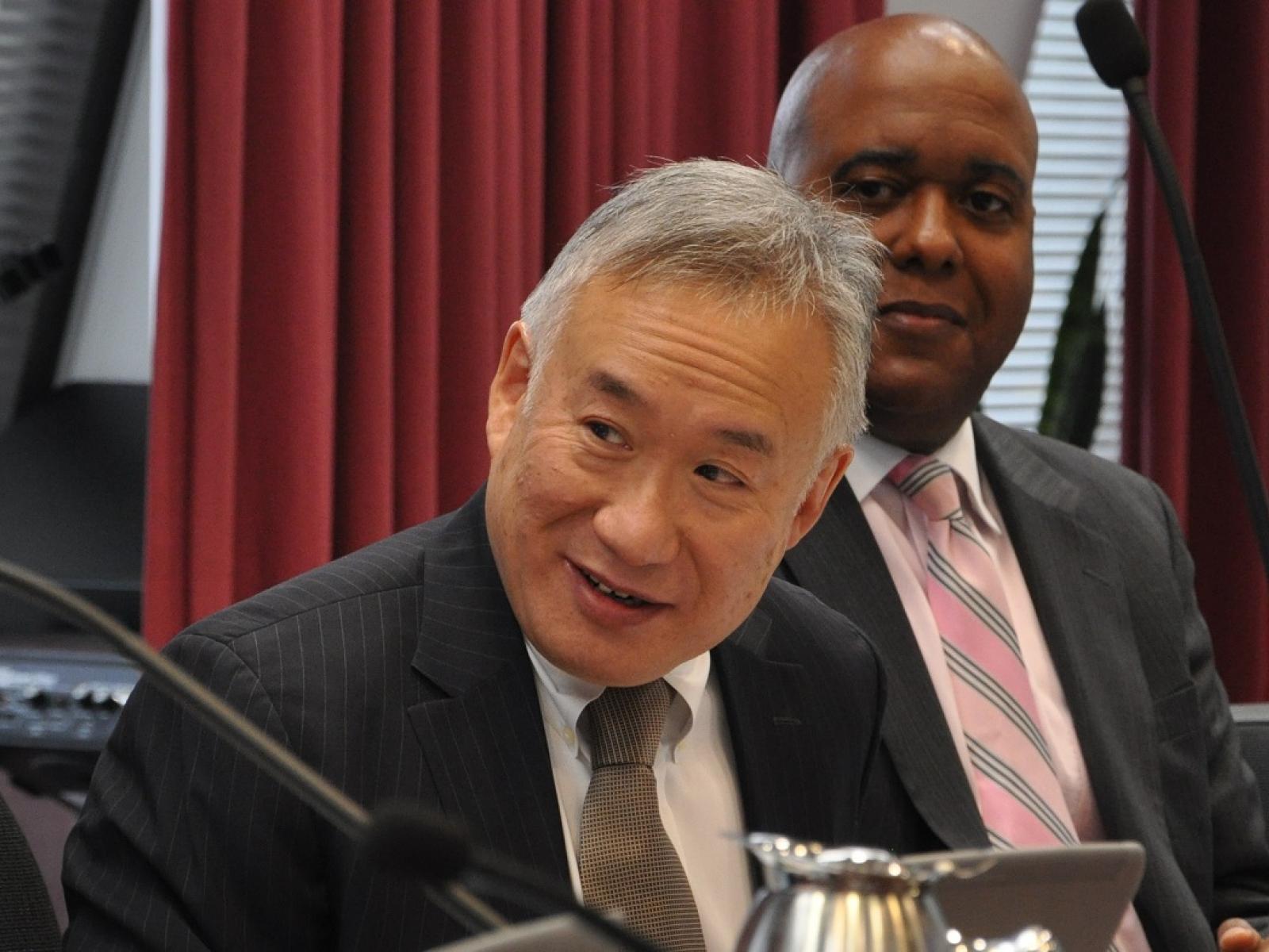 Former Board Chair Allen Lew