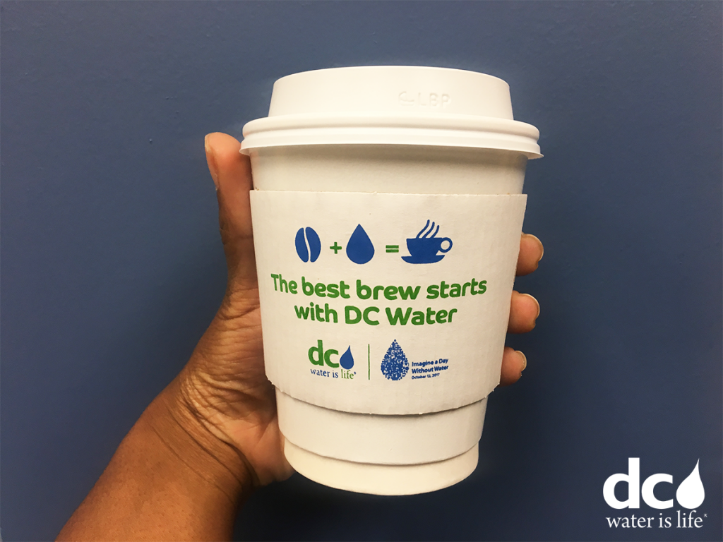 the best brew begins with DC Water