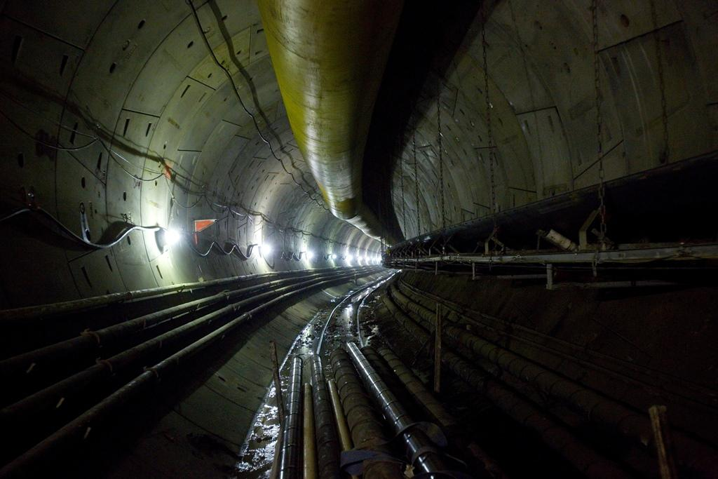 Photo of the Blue Plains Tunnel