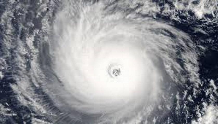 Eye of a hurricane