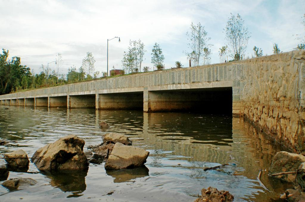 CSO 019 Overflow Structure on Anacostia River
